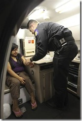 Blood draw law enforcement officer