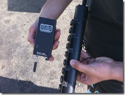GPS Unit & Battery Used by Law Enforcement