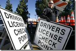 Drivers-license-checkpoint