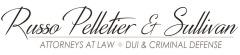 Russo, Pelletier & Sullivan, P.A. Monochrome Logo